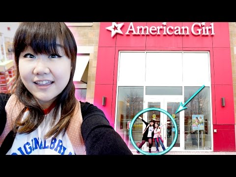 American Girl AG Place Boston with The Dollyrama - Grace Thomas - My First Trip!