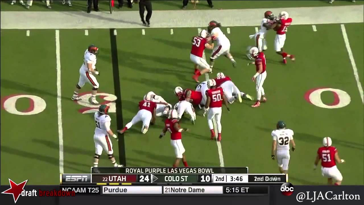 Nate Orchard vs Colorado State (2014)