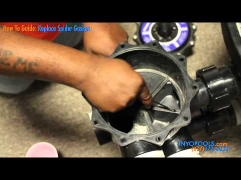 How To Replace A Spider Gasket On A Multiport Valve Youtube