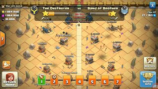 CLAN WAR LEAGUE ELECTRO DRAGON ARMY MY FIRST DAY ATTACK SO EASY MUST WATCH