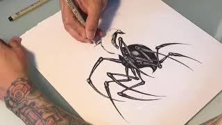 SPIDER-SPIDER-MAN!