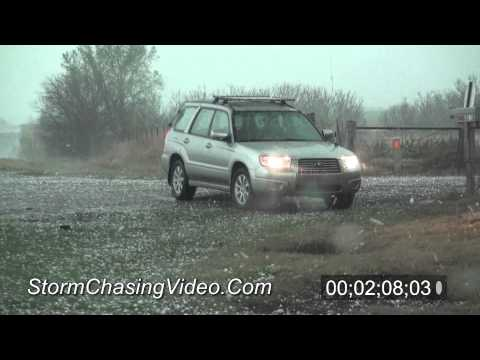 4/8/2011 Garfield County,OK Baseball Size Hail