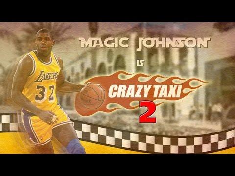 MAGIC JOHNSON CRAZY TAXI 2