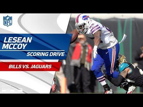 LeSean McCoy & Tyrod Taylor Lead Buffalo on Scoring Drive | Bills vs. Jaguars | NFL Wild Card HLs