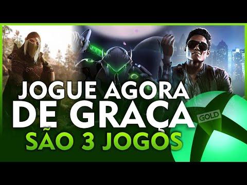 CORRE! 3 JOGOS LIBERADOS de GRAÇA AGORA no XBOX ONE e XBOX SERIES pra TODOS com GOLD ou ULTIMATE!
