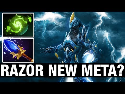 RAZOR NEW META? - RAMZES666 Plays Razor - Dota 2