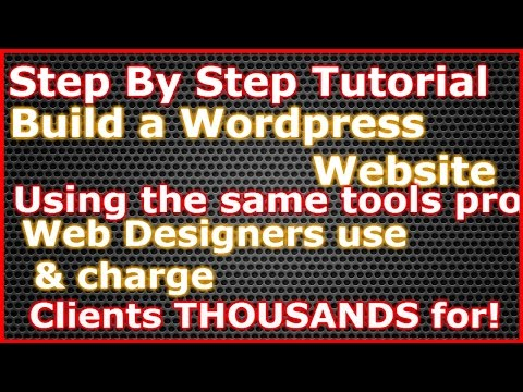 Build $1000 professional Wordpress Websites step by step guide 2015