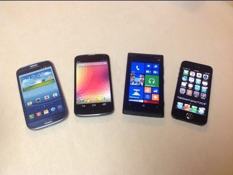 Que celular inteligente comprar en el 2013 - What Smartphone buy in 2013