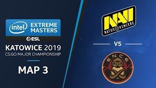 CS:GO - NaVi vs. ENCE [Mirage] Map3 - Semifinals - Champions Stage - IEM Katowice 2019