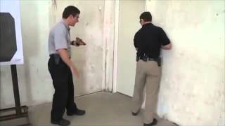 Law Enforcement CQB - 2 Men Room Clearing Technique (Pistol)