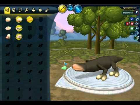 Let's play SPORE #2: Od robala do dinozaura