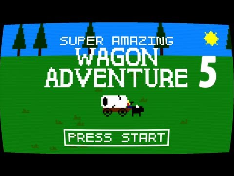 Super Amazing Wagon Adventure 5 - BROKEBACK MOUNTAIN