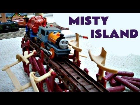 Thomas the train set misty island uk