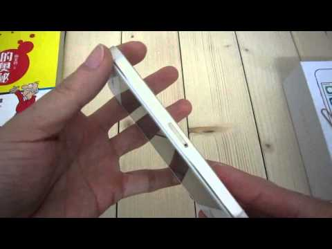 Goophone i5s golden MTK6572 Dual Core nano SIM 4.0 inch Screen Smartphone