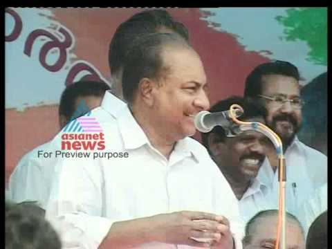 A.K Antony at Neyyattinkara Election Campaign-Nethavinoppam 29, May Part 1