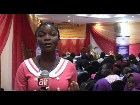 Participant talks about TeenCoders trainig at Girls In ICT 2016 Abuja