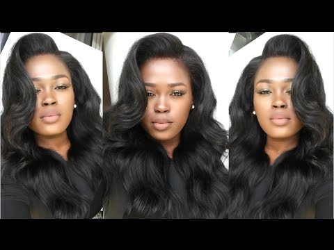 Make Your Lace Frontal/Wig Look Natural(No Sew. No Glue. No Hair Out) Uamazinghair