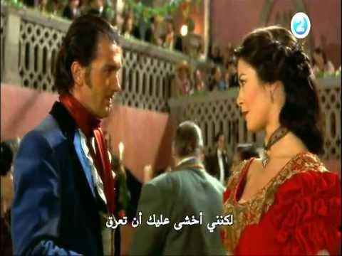 Antonio Banderas torrid dance with Catherine zeta jonesTHE MASK OF ZORRO