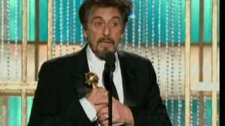 Golden Globes 2011: Al Pacino - Best Performance By An Actor In A Mini-Series