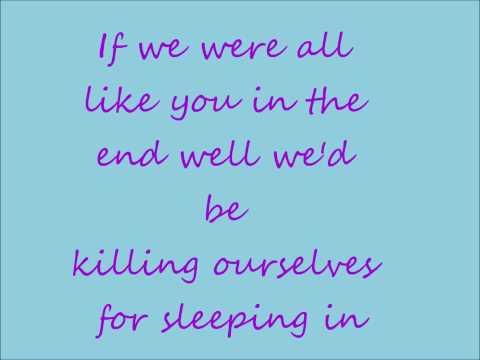 My Chemical Romance - Party Poison Lyrics