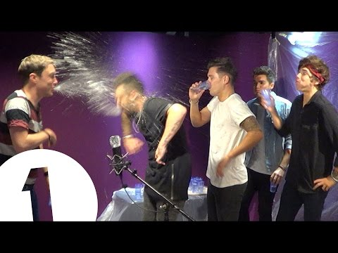 Union J play Innuendo Bingo
