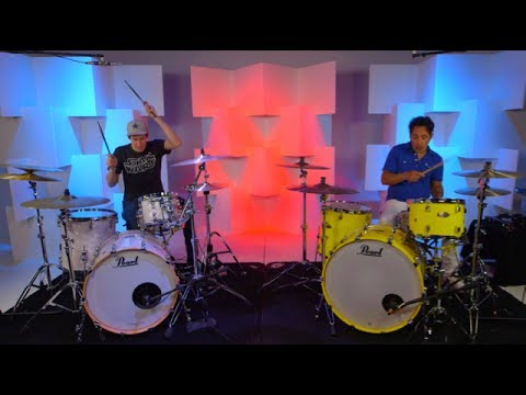 download lagu Attention - Drum Cover - Double Drummer Cover Ft. gratis
