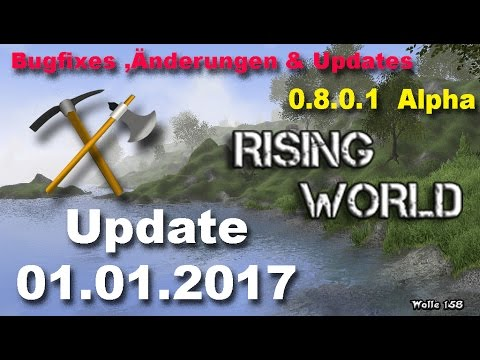 Rising World - Update 0.8  Wetter, Tiere, Dungeon  # Teil 2