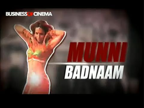 Making Of Munni Badnaam Hui Item Song From Salman Khan's Dabangg video