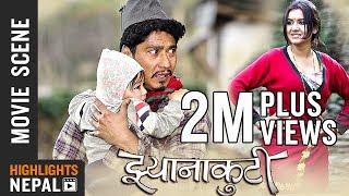 Marna Jana Lako | New Nepali Movie JHYANAKUTI (2018/2075) Scene | Saugat Malla & Benisha Hamal