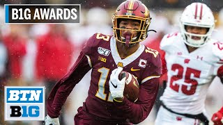 B1G Wide Receiver of the Year: Minnesota WR Rashod Bateman | B1G Football