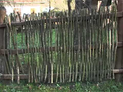 Kerítések, vesszőkerítések