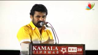 Jannal Oram - Ameer speaks about Karu Pazhaniappan at Jannal Oram Audio Launch | Tamil Movie