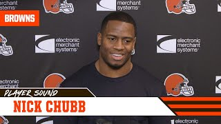 Nick Chubb: I would trade my personal accomplishments to have made the playoffs | Player Sound