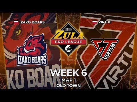 IZAKO BOARS vs VIRTUE | Map 1 | Zula Europe Pro League - Week 6