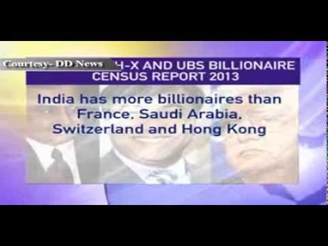 India has 103 billionaires: Wealth-X-UBS billionaire Census report 2013