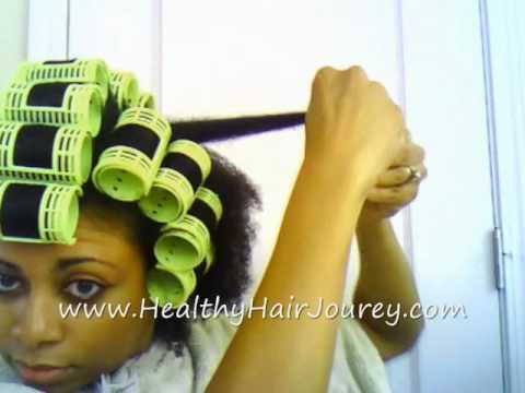 Hair Rollers For Short Hair Roller Setting Natural Hair