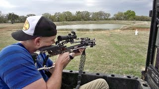 Crossbow Trick Shots | Dude Perfect