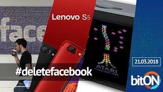 #deletefacebook | Três novos smartphones Lenovo na China | Atari portátil no Brasil - bitON