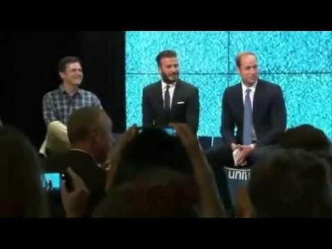 Le Prince William mobilise Beckham pour protéger les animaux menacés
