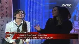 """Sin ti soy un fantasma"", interpreta ""Supernova"""