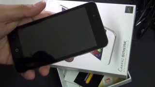Micromax Canvas Spark Q380 Scratch Test