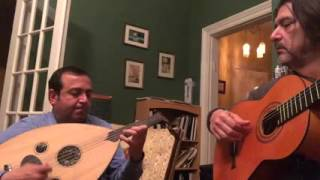 Naji Hilal jamming with Alex Gordez