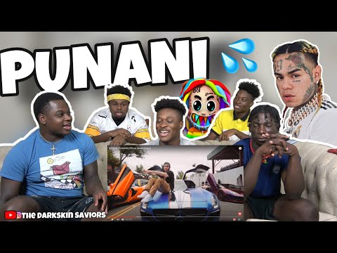 6IX9INE- PUNANI (Official Music Video) Reaction!