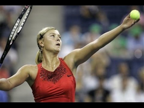 Maria Sharapova Vs Casey Dellecqua US Open 2007 Highlights