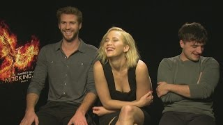 "Jennifer Lawrence says Hunger Games co-stars ""didn"