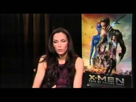 Famke Janssen Talks About