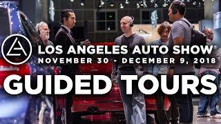Guided Tours at the 2018 LA Auto Show Nov 30 - Dec 9