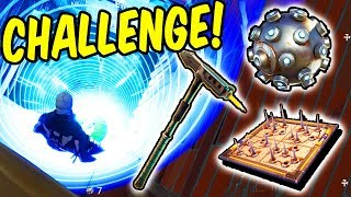ONLY Impulse, Traps and Pickaxe Win - Fortnite Battle Royale Challenge!