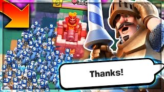 HOW WOULD YOU DEFEND THIS in Clash Royale!?!?