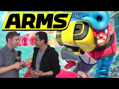 Nintendo's Arms - How to Win - Electric Playground Interview